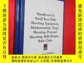 二手書博民逛書店Handbook罕見on Small Bore Rifle Sh
