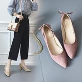 偽娘粗跟大碼高跟鞋女新款40---43百搭反串特大號女鞋4  『優尚良品』