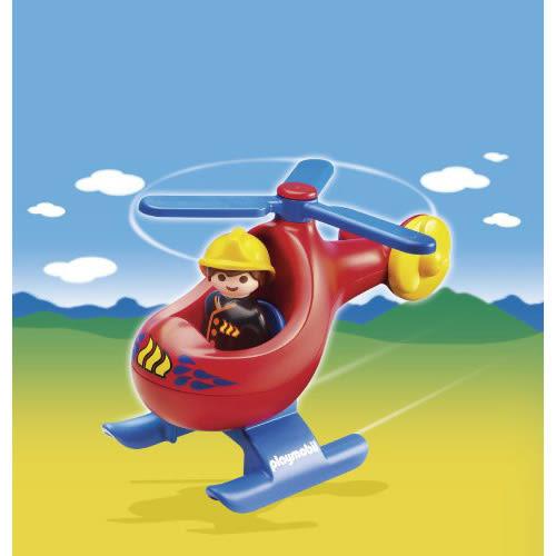 playmobil 123series 小直升機_PM06789