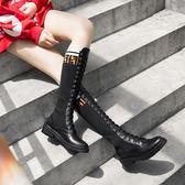 女靴子2018新款百搭韓版ulzzang春秋單靴學生英倫風馬丁靴女 艾尚旗艦店