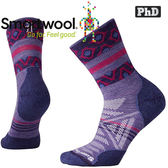 Smartwool Outdoor SW001118-511薰衣草紫 女 PhD戶外輕量印花中筒襪 美麗諾羊毛襪/機能排汗襪