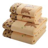 1浴巾 1毛巾 超強吸水大浴巾比純棉全棉柔軟