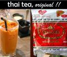泰國 手標牌 NUMBER ONE BRAND紅茶葉 泰式紅茶粉 泰式奶茶 400g