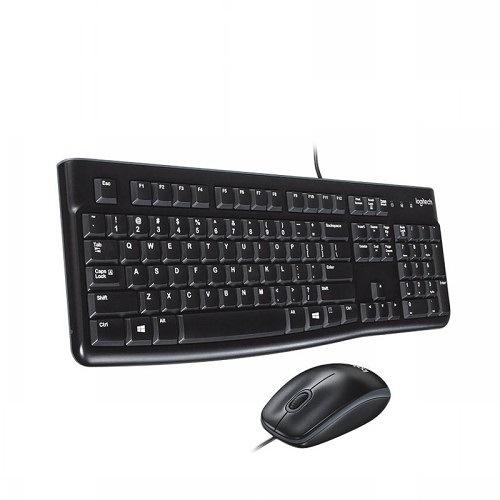 Logitech 羅技 MK120有線鍵盤滑鼠組