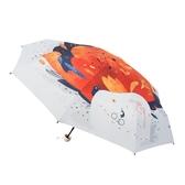 太陽傘防曬防紫外線小巧便攜五摺疊口袋遮陽傘女晴雨兩用膠囊雨傘 魔法鞋櫃