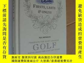 二手書博民逛書店FIRSTS,LASTS罕見& ONLYS:Presents t