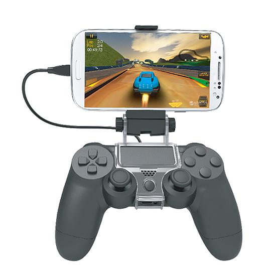 [哈GAME族]滿$399免運費 可刷卡 180度調節 PS4 DOBE TP4-016 SLIM/PRO手把支架 最大支援6吋手機