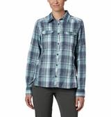 【Columbia】女快排防曬長袖襯衫 UAK14980