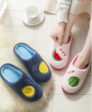 棉拖鞋女冬季家用室內厚底防滑可愛保暖毛絨秋冬家居冬天春季新品