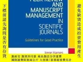 二手書博民逛書店Peer罕見Review And Manuscript Management In Scientific Jour