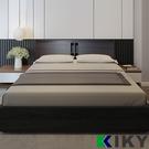 【床組】如懿 標準雙人5尺床架 附插座收納型床頭片(床頭+床底 ) KIKY ~台灣品牌