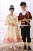兒童歐式俄羅斯宮廷服攝影服裝男童女童表演服 LQ1606『科炫3C』