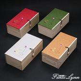 通用茶葉禮盒空盒包裝盒子茶葉伴手禮木盒簡易包裝禮品盒空禮盒 igo  范思蓮恩