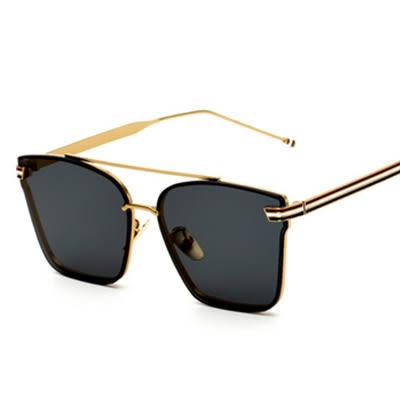 太陽眼鏡 墨鏡男金屬潮流太陽眼鏡眼鏡 台北日光
