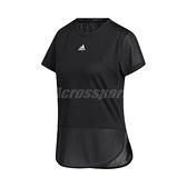 adidas 短袖T恤 Aeroready Tee 黑 白 女款 運動 訓練 【ACS】 GN7308