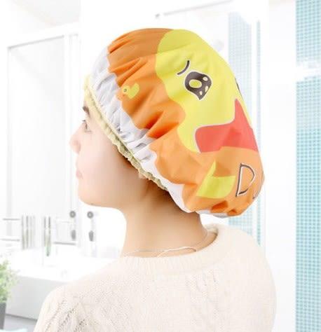 [協貿國際]可愛卡通防水沐浴帽洗頭帽5入