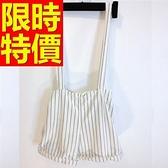 吊帶褲-獨特有型復古牛仔女短褲56i35[巴黎精品]