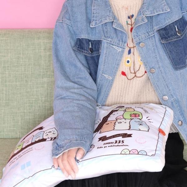 ins可愛角落生物書本抱枕創意小公仔玩偶女友毛絨玩具午睡枕 一木良品