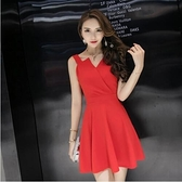 現貨黑L紅L性感禮服小洋裝宴會伴娘裙18469現貨類商品請和其他商品分開下單謝謝