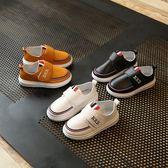 童鞋新款兒童小皮鞋兒童學生演出鞋黑色白色英倫休閒男童單鞋 〖korea時尚記〗