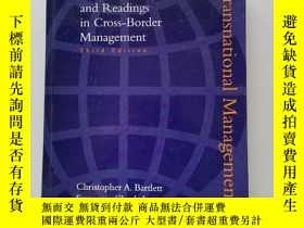 二手書博民逛書店ransnational罕見management:text, cases, and readings in cro