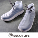 索樂生活 防滑加厚款彈力矽膠防水鞋套M.矽膠防水鞋套 輕便鞋套 雨鞋套 防水鞋 加厚防雨鞋套