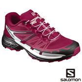 Salomon 女 WINGS PRO 2 野跑鞋-桑格莉亞紅/黑/白 【GO WILD】