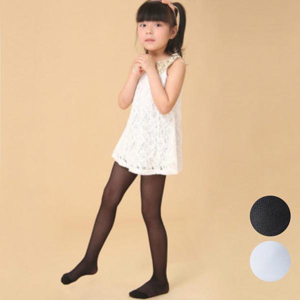 女童透膚薄款絲襪 褲襪 白絲襪 黑絲襪 橘魔法 現貨 兒童 褲襪 童裝 中大童 女童 禮服