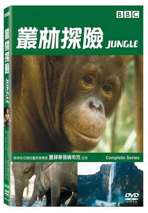叢林探險 DVD Jungle BBC 靈長類 昆蟲 鱷魚 鸚鵡 大水瀨 亞馬遜 剛果 森林  (購潮8)