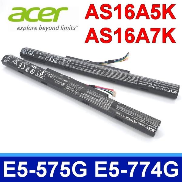 ACER AS16A5K . 電池 Aspire E5-575 E5-575-59QB E5-575G E5-774G TMP249 TMP259 AS16A5K AS16A8K AS16A7K