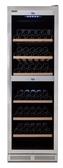 紅酒櫃【德國CASO】嵌入式酒櫃 雙溫控酒櫃 儲酒櫃【215瓶 酒櫃】型號:WineChef Pro 180 (SW-215)