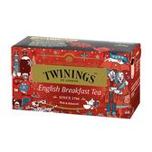唐寧茶【Twinings】英倫早餐茶(2gx25入茶包)_2019 冬季限定款