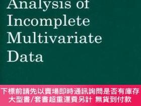 二手書博民逛書店Analysis罕見Of Incomplete Multivariate DataY255174 J.l. S