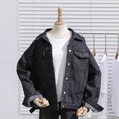 春秋寬鬆chic短款牛仔外套女學院風bf長袖夾克上衣潮『小宅妮時尚』