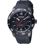 瑞士 WENGER Roadster速度系列黑夜騎士腕錶   01.0851.124