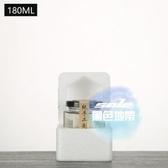 密封罐 六角六棱玻璃瓶家用辣椒醬蜂蜜罐頭瓶帶蓋密封罐透明泡沫盒裝 5色