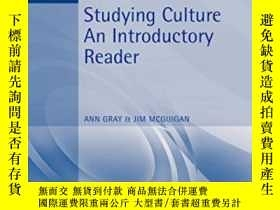二手書博民逛書店Studying罕見CultureY364153 Gray, Ann (edt)  Mcguigan, Jim
