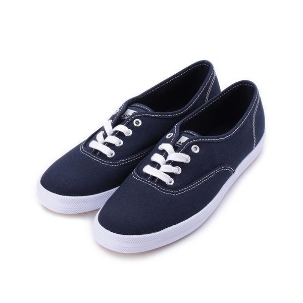 AIRWALK 基本綁帶帆布鞋 深藍 A922200280 女鞋 鞋全家福