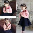韓版《蕾絲公主袖》甜美長袖洋裝(A5-4)