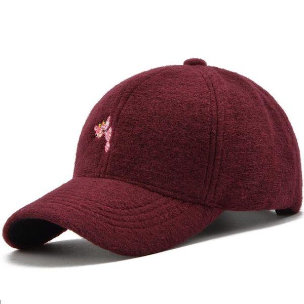 冬款帽子女式韓版可愛圖案鴨舌帽戶外出游可調節棒球帽時尚運動帽