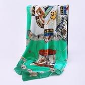 桑蠶絲圍巾-古典中國風經典時尚女絲巾4色73hx62[時尚巴黎]