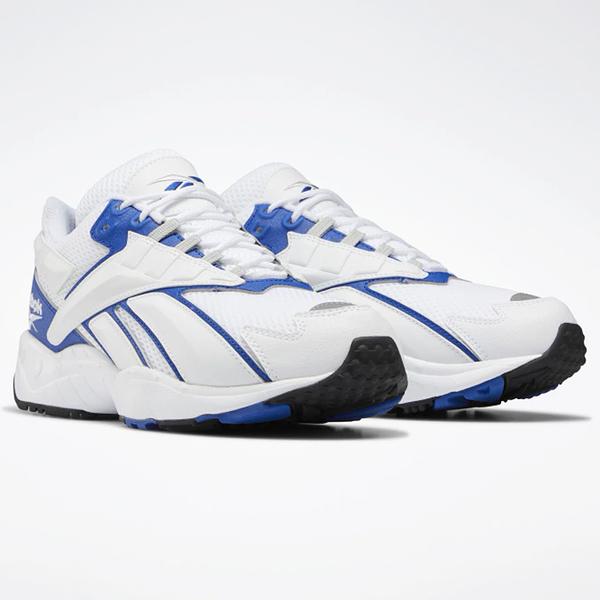 REEBOK Interval 96 男鞋 女鞋 休閒 老爹鞋 穿搭 透氣 白 藍【運動世界】EH3104