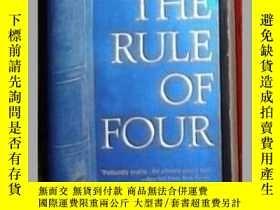 二手書博民逛書店英語原版罕見《 The Rule of Four 》 Ian C