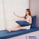 定制亞麻坐墊高密度海綿墊沙發墊實木座墊加...