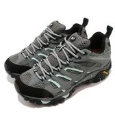 Merrell 戶外鞋 Moab 運動 Gore-Tex 防水 透氣 越野 灰藍 水藍 休閒鞋 女鞋【PUMP306】 ML32674