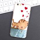 iPhone 6 6S i6 plus i6plus se 5 i5 5S 手機殼 軟殼 外殼 貓戀魚