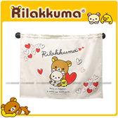 【愛車族購物網】Rilakkum / 懶熊 / 拉拉熊 車用窗簾 1入