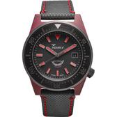 SQUALE 鯊魚錶 限量碳纖維 600米潛水機械錶 T-183R