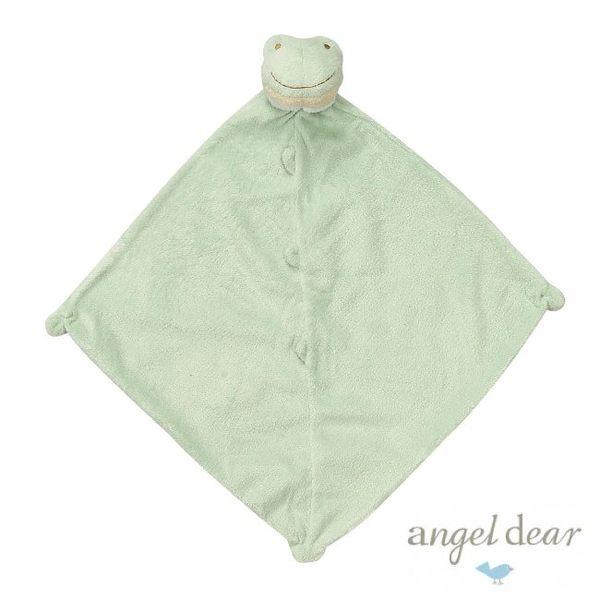 美國Angel Dear 動物嬰兒安撫巾 小青蛙