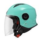 【東門城】ASTONE MJ (淺藍綠) 半罩式安全帽